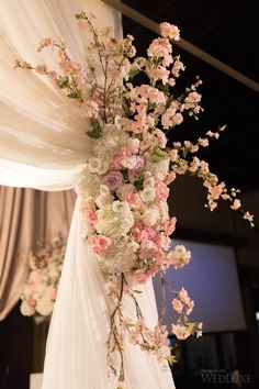 Lily + Paul | Dreamy pink flower-filled Toronto wedding | Photography by: Xero Digital Photography