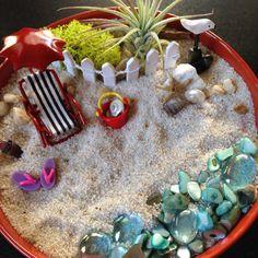 Love this mini beach I made