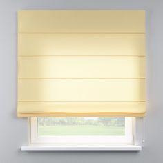 Vouwgordijn Capri  Description: Vouwgordijn voor bevestiging aan de muur of plafond. (kan me behulp van speciale houders ook aan het raamkozijn worden bevestigd- zie vouwgordijn accessoires). Het vergrendlingsmechanisme reguleert het afrollen van het vouwgordijn. Met trekkoord rechts (indien gewenst natuurlijk ook links). Ingenaaide plastic staafjes dienen ter verzwaring. Klassieke decoratieve volant (geschulpt). Vouwgordijn met witte aluminium rail compleet met accessoires. Marge /- 2 cm…