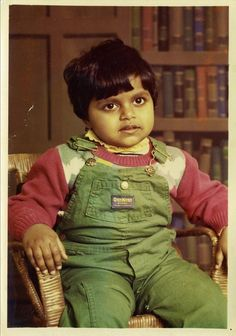 Mindy Kaling from childhood