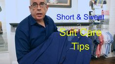 How To Look After Your Suit and save in your pocket. A good sponge and press will bring a suit back to life and is generally half the price of getting it dry. Look After Yourself, That Look, Suits, Videos, Suit, Video Clip, Costumes