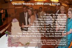 A great list of classic wedding cake cutting songs for timeless memories! Cake Cutting Songs, Wedding Cake Cutting, Falling In Love Elvis, Cant Help Falling In Love, Wedding Dj, Wedding Cakes, Ceremony Outline, Let's Stay Together, Wedding Entertainment