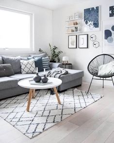 If you need to transform your living room for the better, try Scandinavian interior design. Here are some of the beautiful Scandinavian living room inspiration. Interior Modern, Interior Design Living Room, Living Room Designs, Living Room Themes, Living Room Decor Kmart, Grey Living Room Furniture, Living Room Prints, Interior Livingroom, Bedroom Designs