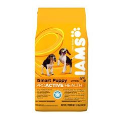 Iams Smart Puppy ProActive Dry Dog Food 8lb *** See this great product. (This is an affiliate link and I receive a commission for the sales)