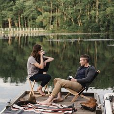 When you're in a new relationship, silences can get awkward. Here's a list of things to talk about with your boyfriend, that brings you closer together. Vie Simple, Camping, Lake Life, Couple Photography, Life Is Beautiful, The Great Outdoors, Cute Couples, Love Story, Life Is Good