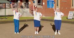 #MONSTASQUADD The Breakdown: Older Lawn Bowlers Put Their Hands Up to Save Club, With a Beyoncé Twist