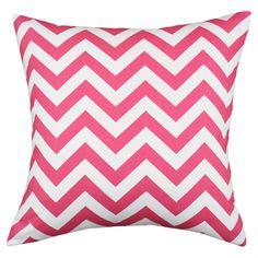 Pink Chevron Pillow