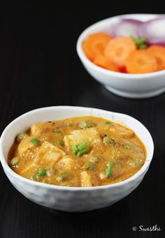 Matar paneer or paneer mutter masala is one of the popular North Indian recipes that is served with naan, roti, plain paratha, jeera rice.