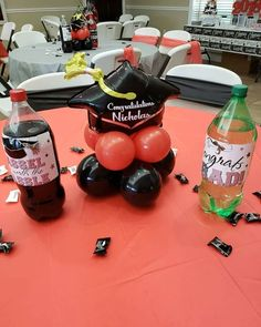 Graduation Balloons, Balloon Centerpieces, Party, Medical Party, Parties