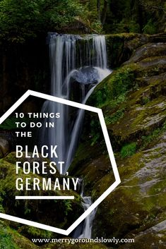 Planning your trip to the Black Forest, Germany? Check out this guide to learn more about Freiburg, Oppenau, Baden Baden, Gengenbach, Triberg waterfall. And remember to taste the Black Forest cake. Autumn in Black Forest / Schwarzwald / Spätzle / Hiking / Hiking Black Forest / Europe #blackforest #oppenau #freiburg #triberg #waterfall