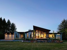 Beautiful contemporary Bradner family residence designed by Rockridge Fine Homes located in Abbotsford, BC, Canada.