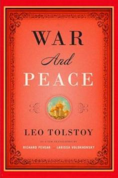 War and Peace, Leo Tolstoy (Friday Reads)
