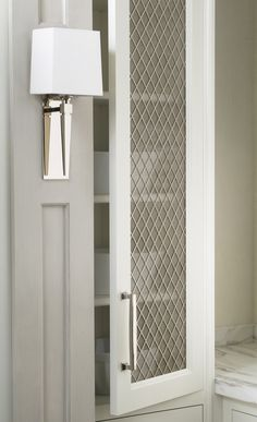 With custom English cabinet grilles, it's easy to turn your cabinetry from so-so to spectacular! Perfect for library, kitchen, bath, closets, wine cellars and entertainment centers.