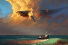 Картинки по запросу картина летающий кит