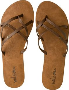 Volcom New School Sandal. http://www.swell.com/womens-footwear-new-arrivals/VOLCOM-NEW-SCHOOL-SANDAL-NR?cs=PI