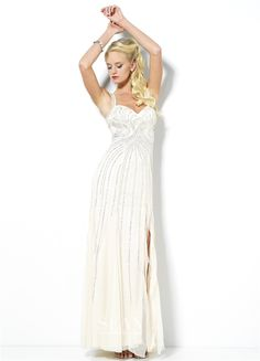 Sean Collection for Prom 2014! Find this gown at Aliber's Bridal, www.alibersbridal.com