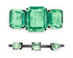 Jack Vartanian - 'Pure' Colombian Emerald Bracelets