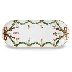 Royal Copenhagen Star Fluted Oval Platter from Bloomingdale's on Catalog Spree, my personal digital mall. Royal Copenhagen, Copenhagen Christmas, Cake Tray, Xmas Dinner, Star Wars, Christmas Plates, Christmas Holiday, Scandinavian Christmas, Vintage China