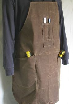 Action Wares by Wadey- canvas shop apron