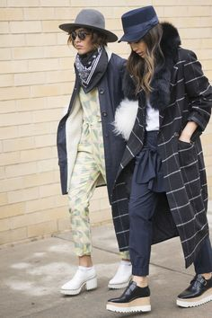 NYFW Day One: Christina Caradona and Serena Goh