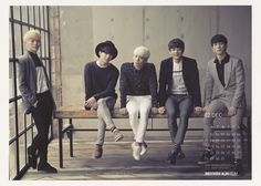 http://cfile22.uf.tistory.com/original/266BE44E52AB1963236DBB Onew Jonghyun Key Minho Taemin - SHINee Official 2014 Calendar. Scans by @imsorry_kjh http://imsorrykjh.tistory.com/25