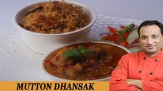 Dhansak is a popular Indian dish, especially among the Parsi Zoroastrian community. It combines elements of Persian and Gujarati cuisine. Dhansak is. Food Videos, Recipe Videos, Gujarati Cuisine, Tamarind Juice, Beef Curry, Masala Recipe, Indian Dishes, Soul Food, Spice Things Up