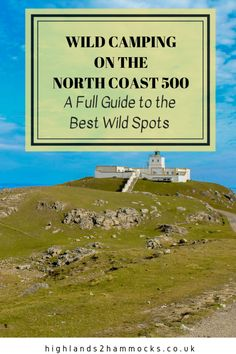 Camping North Coast 500 - The Best Places to Wild Camp The is one of the must see road trips in Scotland. This itinerary will take you around all of the best wild camping spots on the map around this route. Wild Camping North Coast The Best Pl Camping Scotland, Scotland Road Trip, Scotland Travel, Scotland Tours, Glasgow Scotland, Camping Spots, Go Camping, Camping Hammock, Camping Places