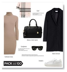 """""""PACK AND GO"""" by brccz ❤ liked on Polyvore featuring Burberry, Rumour London, MICHAEL Michael Kors and Yves Saint Laurent"""