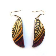 jaarokoko on Etsy Style Tribal, Textile Jewelry, African Prints, Boutique, Artisanal, Terracotta, Creations, Handmade Jewelry, Textiles