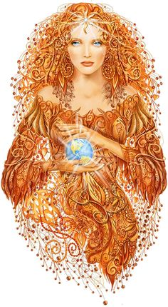 ♥Mother Earth, Gaia who bore many children, including quite a few in my book, Haven Awakening.