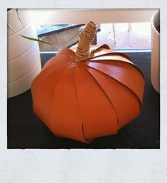 DIY Tutorial: DIY Fall Decor / DIY Pumpkin - Bead&Cord