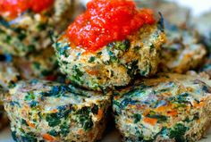 Easy Healthy Dinner Ideas - Paleo Mini Meatloaves - Click Pic for 38 Easy Healthy Dinner Recipes @Jennyy71