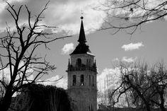 Torre de Catedral Magistral de Alcalá Vista desde Huerta del obispo - Alcalá de Henares