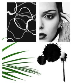 """""""Kendal 🌿🌑"""" by margjer on Polyvore featuring kunst"""
