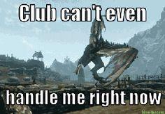 Image result for skyrim giants meme