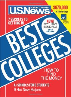 Us News and World Report Best Colleges 2014 See more posts on CollegeLeaf