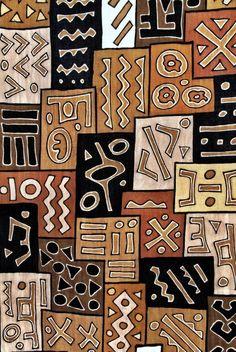 Kuba Skirt 18 inspiration and art t African art Tribal art African Quilts, African Textiles, African Fabric, African Tribal Patterns, Ethnic Patterns, Arte Tribal, Tribal Art, Tribal Pattern Art, Afrique Art