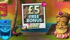 Touch Lucky Casino – Exclusive £5 Free Chip on Aloha! Cluster Pays (UK only)
