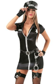Hot Police Girl Costume