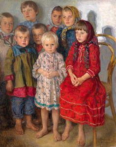 Admission Day Nikolai Bogdanov-Belski (1868 - 1945, Russian)
