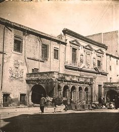 Palacio del Almudi c 1900 Murcia Murcia, Plaza, Valencia, Taj Mahal, San Francisco, Spain, Louvre, Antiques, Travel