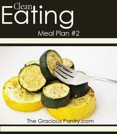 Clean Eating Meal Plan #2