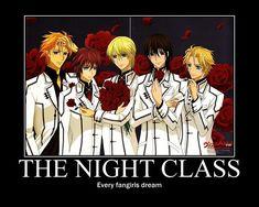 vampire knight funny | Vampire Knight Motivational Poster by SilverBlade234