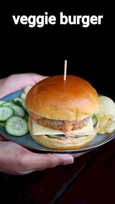 veggie burger recipe, vegetarian burger, veg cheese burger with step by step photo/video. healthy burger option with mixed veggie patties & cheese slice. Cheese Burger, Bun Burger, Veg Recipes, Spicy Recipes, Vegetarian Recipes Videos, Pasta Recipes, Veg Burgers Recipe, Sandwich Recipes, Veggie Patties