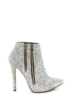 Glitter Party Sparkling Zipper Booties SILVER  The post  Glitter Party Sparkling Zipper Booties SILVER  appeared first on  Vintage & Curvy .  http://www.vintageandcurvy.com/product/glitter-party-sparkling-zipper-booties-silver