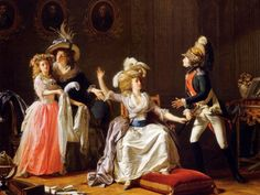 Pintura de Michel Garnier, en el Museo Carnavalet