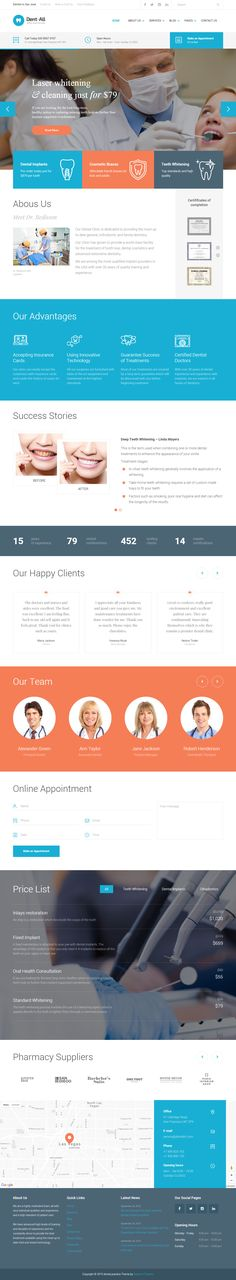 Dent-All is Premium full Responsive Retina Parallax #WordPress #Dental #Theme. Bootstrap 3. Visual Composer. Video Background. Test free demo at: http://www.responsivemiracle.com/cms/dent-premium-responsive-dental-practice-wordpress-theme/