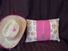 Custom Child's Pillow by HazelLaneDesigns on Etsy, $22.50