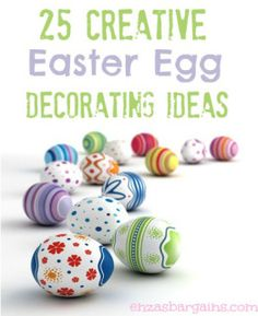 Easter Ideas from Around the Web - Cranial Hiccups