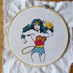 Wonder Woman | In-Stitches